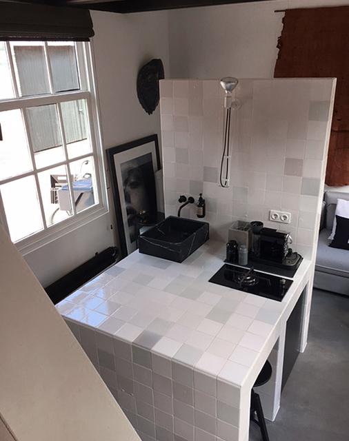 Keukenblok kitchenette appartement